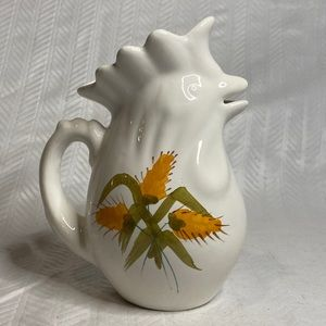 Rooster pitcher made in Italy Pippo Cetona Toscana